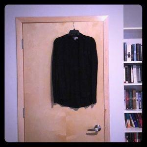 Black knit chunky sweater